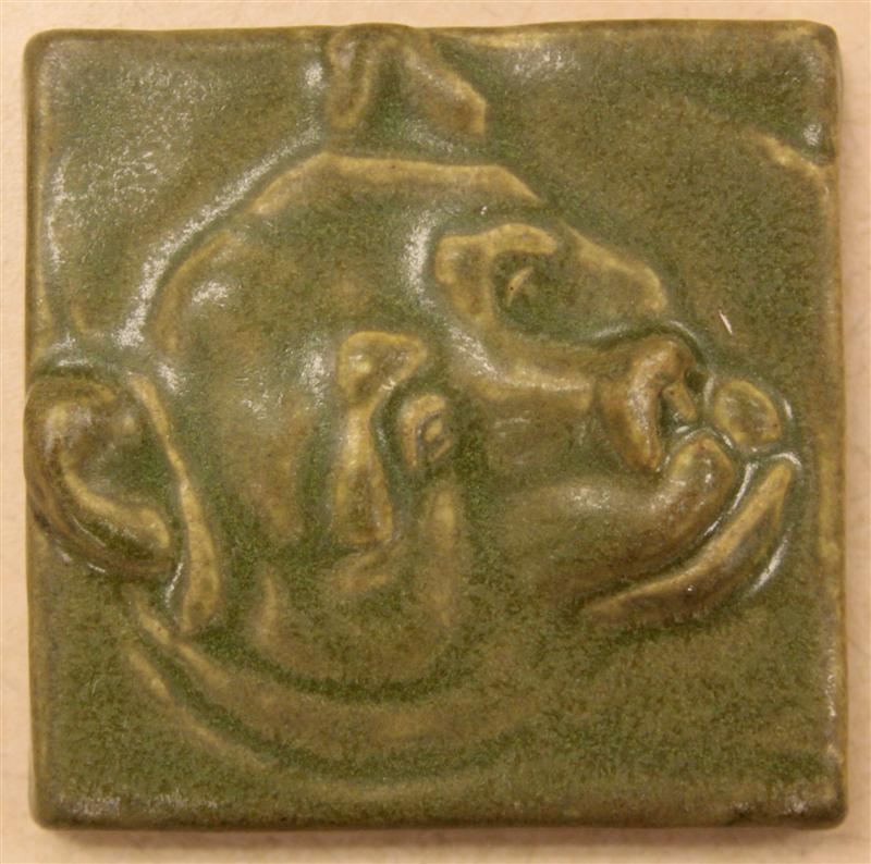 4x4 Bear S Head Tile